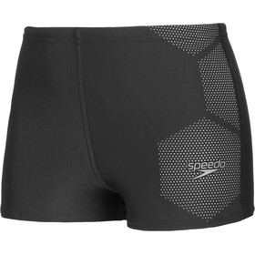 speedo Tech Placement Short de bain Garçon, black/ardesia